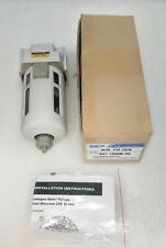 """Compressed Air Particulate Filter SAF4000M PC/Nylon Guard RCPT 1/2"""""""