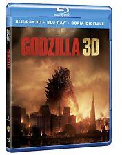 Godzilla (2014) (Blu-Ray 3D + Blu-Ray Disc + Copia Digitale)