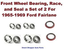 Front Wheel Bearing, Race, and Seal For 1965-1969 Ford Fairlane a Set of 2 Lt/Rt