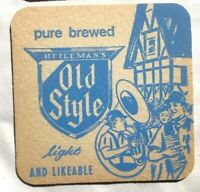 Vintage HEILEMANS OLD STYLE SPECIAL EXPORT Cardboard COASTERS. NOS.. Qty of 10.