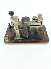 Antique Morse Code Signal Electric Telegraph Sounder