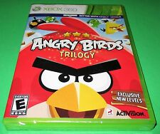 Angry Birds Trilogy Microsoft Xbox 360, 2012 *Factory Sealed! *Free Shipping!