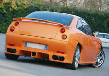 Fiat Coupe' Spoiler tuning alettone cadamuro design Posteriore Baule con 3 stop