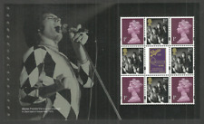 GB 2020 QUEEN FREDDIE MERCURY POP ROCK PRESTIGE MACHIN PANE MNH