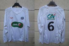Maillot F.C ISTRES porté n°6 COUPE DE FRANCE Duarig away shirt PMU manche longue