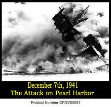 USS Arizona BEFORE AFTER Pearl Harbor Dec 7 films DVD
