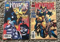 Wolverine Comic Double #112 + #114 Both Great Condition Marvel Comics -   (4)