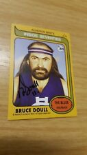 2016 Acheron Mints Inside Seventies (7) Bruce DOULL Carlton - HAND SIGNED RARE