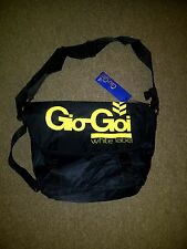 "Deadstock ""Gio Goi""  white label classic nylon messenger bag .."