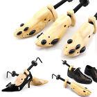 Men Women Wooden Adjustable 2-Way Professional Shoe Holder Stretcher Shaper Tree