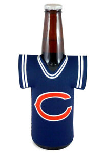 Chicago Bears Bottle Holder Jersey Cooler Cover NFL Football