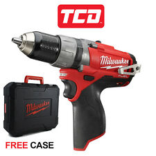 Milwaukee M12CPD-0 M12 Fuel 12v Brushless Cordless Combi Hammer Drill BARE UNIT