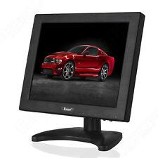 """Eyoyo 10.4 """"écran LCD Moniteur Affichage HDMI VGA BNC AV 800 * 600 pour CCTV PC"""
