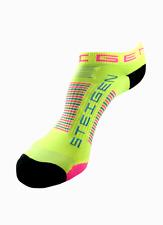 Steigen Sherbet Yellow Zero Length Performance Running and Cycling Socks