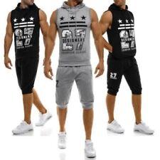 Abbiglimento sportivo da uomo multicolore in misto cotone Fitness