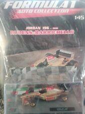 JORDAN 196 1996 RUBENS BARRICHELLO FORMULA 1 AUTO COLLECTION 1/43 #145 MOC