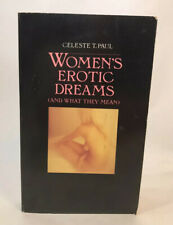 Women's Erotic Dreams (and What They Mean) by Celeste T. Paul 1988 PB VTG Book