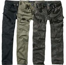 BRANDIT Pantaloni uomo militare in cotone Adven Slim Fit Trousers