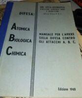 Manuale dell'aviere sulla difesa contro gli attacchi A. B. C. (MILITARIA)