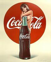 MEL RAMOS Lola Cola 1972 limitiert signiert nummeriert EVP 6000 Euro