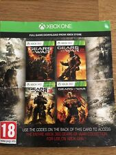 Gears Of War Xbox 360 Collection On Xbox One