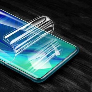 Soft TPU Front Hydrogel Film For OPPO Reno Z R9S R11S F9 Screen Protector Film