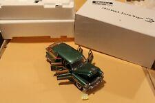 B5 Danbury Mint 1953 Buick Estate Wagon 1:24 Terrace Green Title, Antenna in Box