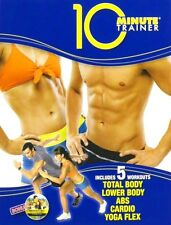 10 Minute Trainer Beachbody Tony Horton 5 Workouts 2-DVD w/ Booklets LIKE NEW