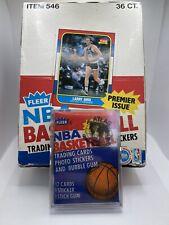 1986-87 Fleer Factory Sealed Hobby Wax Pack Graded Atlas Gem Mint 9 Jordan RC?