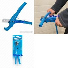 New Silverline 36mm PLASTIC HOSE PIPE CUTTER PVC Polythene Plumber Plumbing Tool