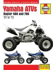 01 Yamaha Raptor 660 700 Haynes Manual Book 2977