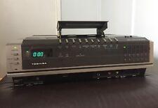 Toshiba Vintage Toploader Video, Betamax
