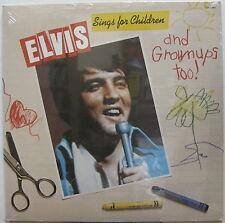 ELVIS PRESLEY Sings For Children 1978 US ORG Sealed LP + Greeting Card!