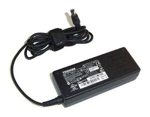 Genuine Toshiba 75W Laptop AC Charger PA3378E-3AC3 PA3378E-1ACA PA3378E-2ACA