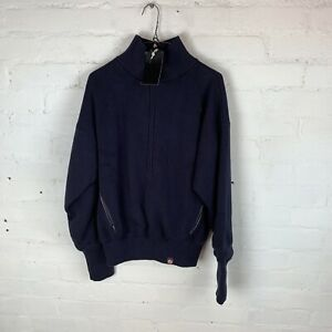 ACAI The Windproof Outdoor Sweater Navy Midnight Blue SMALL RRP£95