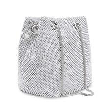 Crystal Clutch Evening Purse Bridal Wedding Party Handbag Crossbody Bucket Bag