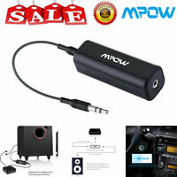 Mpow 3.5mm Noise Isolator Eliminate Humming Ground Loop Car Audio System Stereo