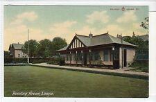 BOWLING GREEN, LENZIE: Dunbartonshire postcard (C16585)