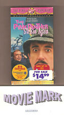 PINK PANTHER STRIKES AGAIN (MGM/UA Home Video) Peter Sellers Deluxe W/S vhs NEW!