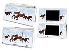 Skin Sticker to fit Nintendo DS Lite DSL - Horses