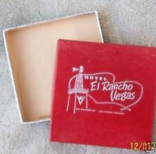 El Rancho Vegas Hotel Gift Box Las Vegas 1960