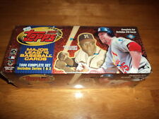2000 TOPPS BASEBALL COMPLETE FACTORY SET 478 CARDS