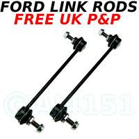 MONDEO JAGUAR X FRONT Anti-roll Bar Link Stabiliser Drop Links Rods Sway Bar x 2