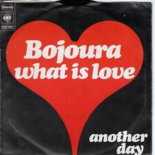 7inch BOJOURA  what is love HOLLAND 1973 VG++/EX  (S1365)