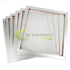 "6 Pack - 20"" x 24""Aluminum Frame With 160 mesh Silk Screen Printing Screens"