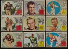 1960 Topps CFL Football EX avg complete 88 card mid grade set 47165