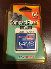 CompactFlash 64MB Memory upgrade Dane-Elec card FREE SHIPPING