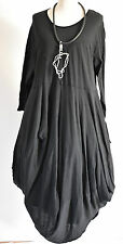 FAB SARAH SANTOS  cotton parachute dress  size  XL/XXL BLACK