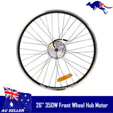 Electric Bicycle 36V 350W High Speed Brushless Gear Hub Motor Ebike Front Wheel