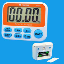 LCD Digital Countdown Timer, Kitchen Cooking Count Down Up Alarm Clock Timer